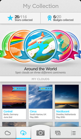 NASA CloudSpotter App