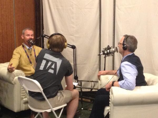 Bill Hennessy, Clark Buckner and Barry Kirk at GSummit.